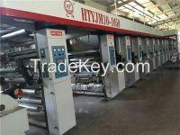 Used of 8 Color Rotogravure Printing Machine Printing Press Gravure Pr