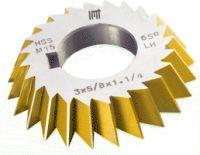 HSS angle milling cutter