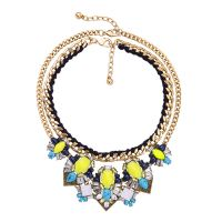 Charm multi layers Statement Necklaces
