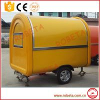 2016 New arrival high quality food cart /food truck /mobile food cart China manufacturer