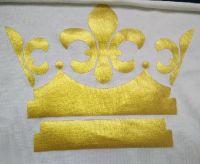 Imitate gold/silver paste