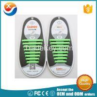 silicone elastic no tie shoe lace