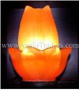 """Fancy Flower Shape Salt Lamp - 5""""x6"""""""