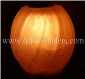 """Fancy Aroma Pumpkin Shape  Salt Lamp - 5.5""""x5.5""""x6"""""""