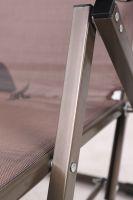 Teslin cloth loungers 25*25 square leg