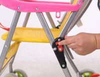 Hand woven children's strollers
