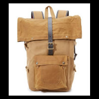 High Quality Canvas Design Backpack