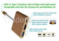 USB 3.1 Type C HDMI Card Reader