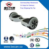Free shipping 6.5 inch Lithium battery electric scooter, 2 wheels balancing scooter