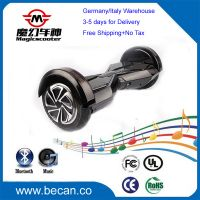 Hoverboard battery bluetooth LED light, self balancing 3 days delivery electric scooter