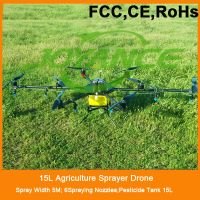 6kg 10kg 15kg Agriculture sprayer drone for crop,rc uav sprayer