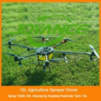 heavy lift sprayer drone agriculture with 10kg capacity,reliable rc uav sprayer