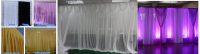 promote sell price pipe and drape for wedding party