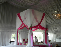 adjustable pipe and drape for wedding decoration with drapes