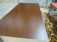 wood grain melamine faced MDF for furniture