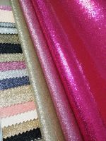 Hot-selling sparkel Glitter leather for shoe upper furniture material
