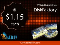 DVD duplication service in USA by DiskFaktory