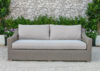 New Modern Patio Resin Wicker Rattan Furniture Sofa Set - Outdoor Garden Sofa Set Furniture