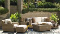 Hottest decoration synthetic resin wicker rattan living room sofa set furniture - Garden sofa set gerneral for outdoor furniture