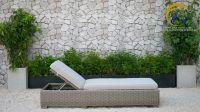 Best selling Wicker Cheap Sun Lounger - Wicker Rattan swimming pool sunbed - Rattan Outdoor Sunbed