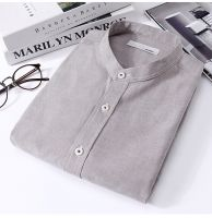 Men's winter flannel plaid casual hooded warm thick long-sleeve shirt