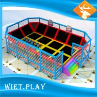 2016 Hot Sale fast business Indoor Trampoline Park