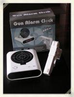 gun alarm clock creative and funny