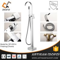 Made in China upc freestanding bathtub faucet