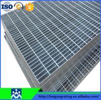 industrial platforms galvanized steel grating