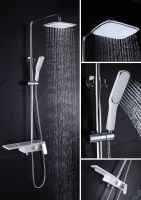 High quality polished chromed hand shower set