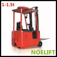 3 wheel electric battery  forklift