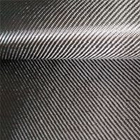3K conbon fiber fabric/cloth  200gsm 2×2 Twill high strength for auto parts, sport equipment