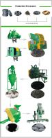 Good quality whole used tire recycling production line for sale