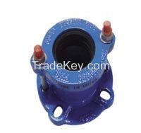 Ductile iron universal flange adaptor