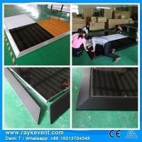 RK Durable  acrylic dance floor 4*4ft events in stage decoration