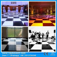 Singapore Custom made  18mm thickness wholesale dance floor tiles decoration events hall