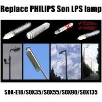 B22 sox35 sox55 sox90 sox 135 LPS son sox bulb replacement By22d 12W-35W SOX LED bulb replace sox low pressure sodium lamp