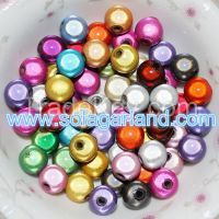 4-20MM Acrylic Round Fantasy Ball Beads Loose Spacer Beads