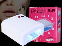36W mini UV Nail Curing Lamp for Gel Polish Dryer + 4*9W 365nm Light Bulb Gel Art