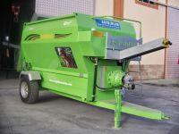 TMR Wagon Feed Mixer 8m3 Horizantal