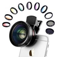 Bomgogo Govision L1 12 in 1 Combo : Wide Angle and Macro Lens with other 10 filters (CPL, ND8, Star filter)