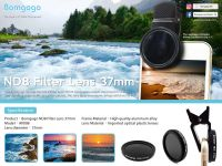 Bomgogo ND8 Filter Lens 37mm for smartphone use