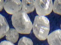 White rough diamond/HPHT colorless diamond/Synthetic diamond for jewellery