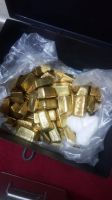 RAW GOLD AND GOLD BARS