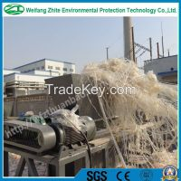 Double shaft shredder for plastic/wood/tire/foam/kitchen waste/animal