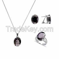 925 Sterling Silver Fantasy Collection Hot Selling Gemstone Set
