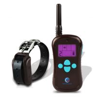PETINCCN P680C 660 Yards Remote Dog Training Collars Waterproof and Rechargeable with Four Functions of Range Finding Tone Vibrating Static Shock Trainer Collar 1Collar