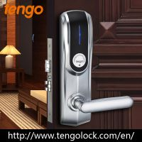 Luxury High Quality Patent Design Smart RF Hotel Key Card Lock for Star Hotels