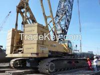 GOOD CONDITION Used KOBELCO Crawler Crane CKE2500