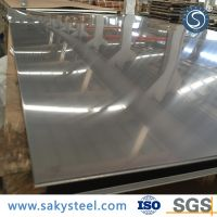 brushed stainless steel sheet 409